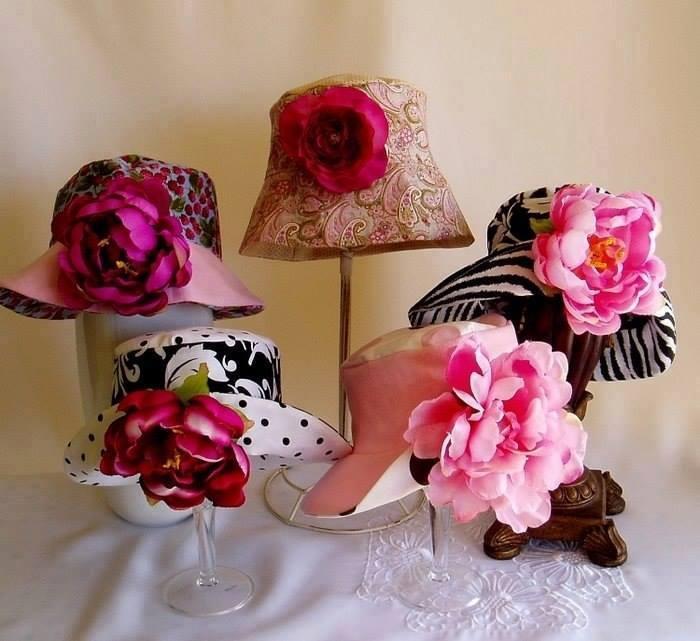 Sombreros para muñecas - Patrones gratis