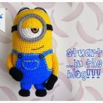 The Minion Stuart en amigurumi