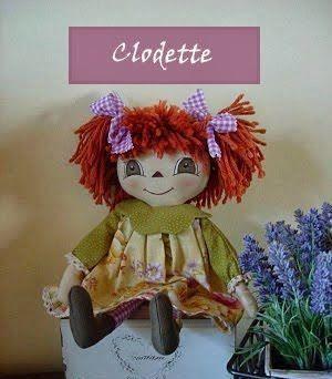 muñeca clodette
