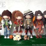 Muñecos adolescentes