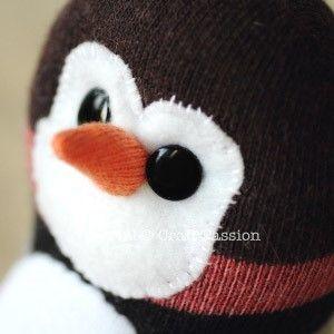 pinguino calcetin 11