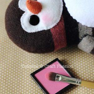 pinguino calcetin 15