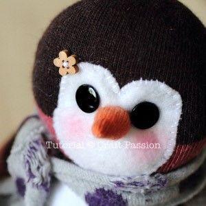 pinguino calcetin 16