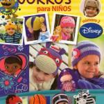 Gorros Disney en crochet para niños