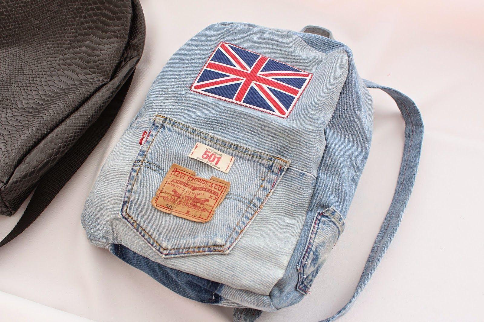 Como hacer una mochila de jeans patrones gratis for Como colocar una mochila de inodoro