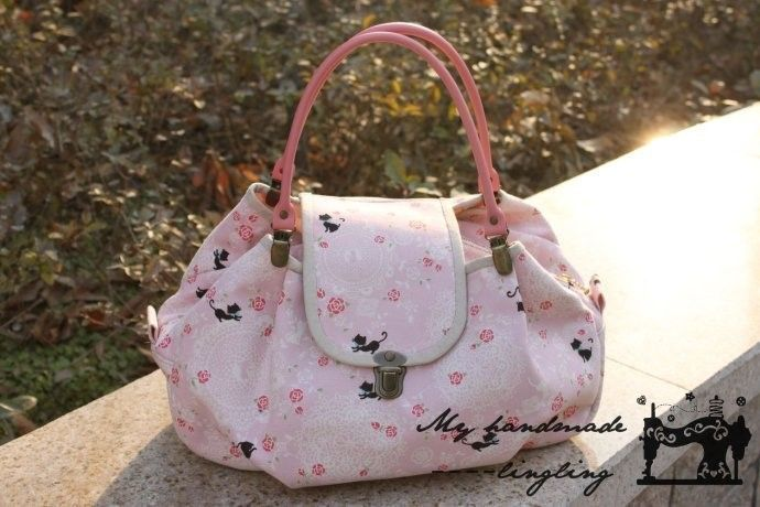 bolso rosa 45