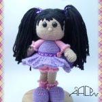 Muñeca amigurumi Marilu