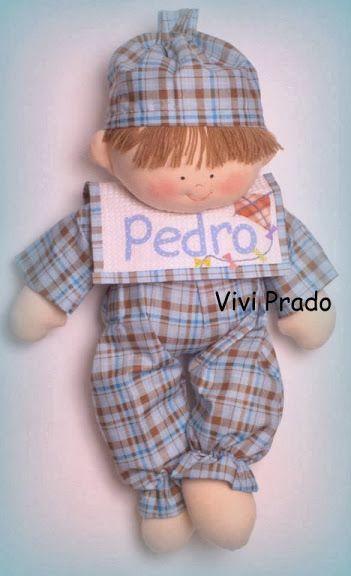 muñeco en pijama