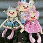 Patron de muñecas primitivas de tela