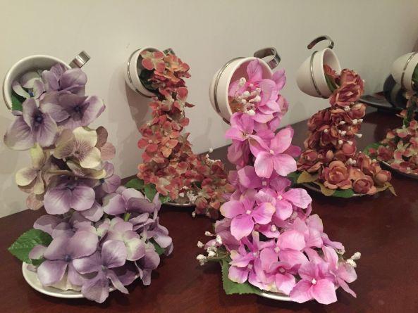 Cascada de flores