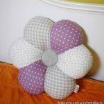 Cojin en forma de flor