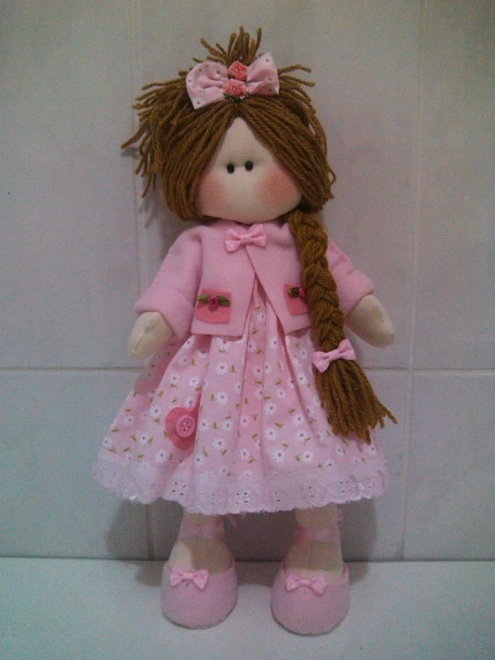 Atractivo Los Patrones De Crochet Libre Para American Muñeca De La ...