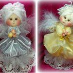 Muñeca de tela Angelita, tutorial completo