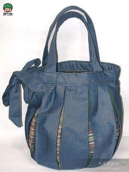 estilo de moda pensamientos sobre desigual en el rendimiento Ideas para hacer bolsos reciclando pantalones vaqueros ...