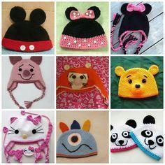 ef4fba92d Gorritos Crochet para niños. gorros crochet niños