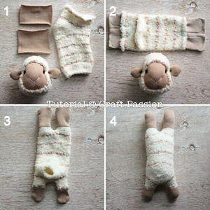 ovejas con calcetin paso 15