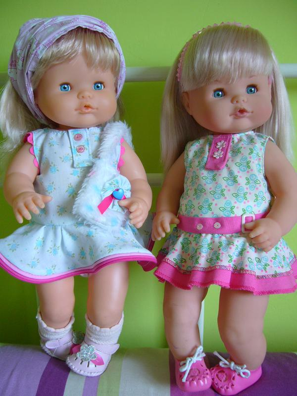 Patrón de vestido para muñeca nenuca - Patrones gratis