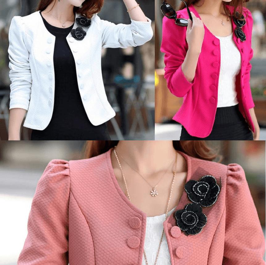 bb0888864 Hoy comparto con vosotros el patrón de esta preciosa chaqueta fácil de  confeccionar. Patrones desde la talla 36 hasta la talla 56