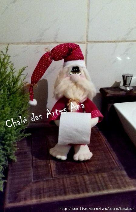 muñeco portarollos 19