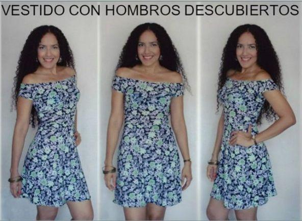 Vestido Hombros Descubiertos 2