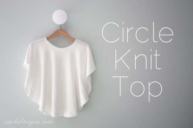 how to make a circle top shirt