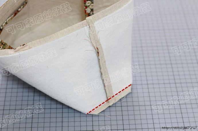Como hacer una bolsa para la compra - Patrones gratis