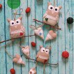 DIY Búhos para decorar el hogar