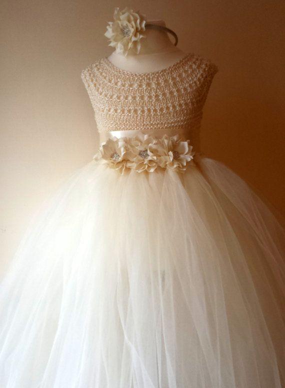 Vestido De Princesa Con Tul Para Niña Patrones Gratis