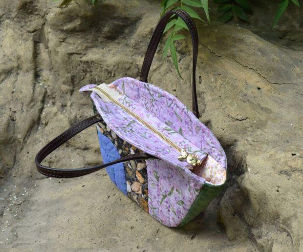 bolso acolchado con asas 3