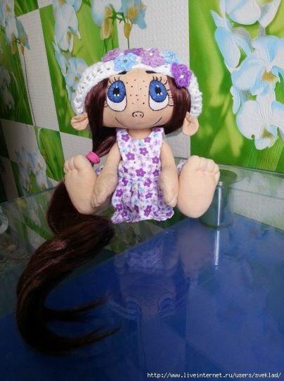 muñeca caramelo
