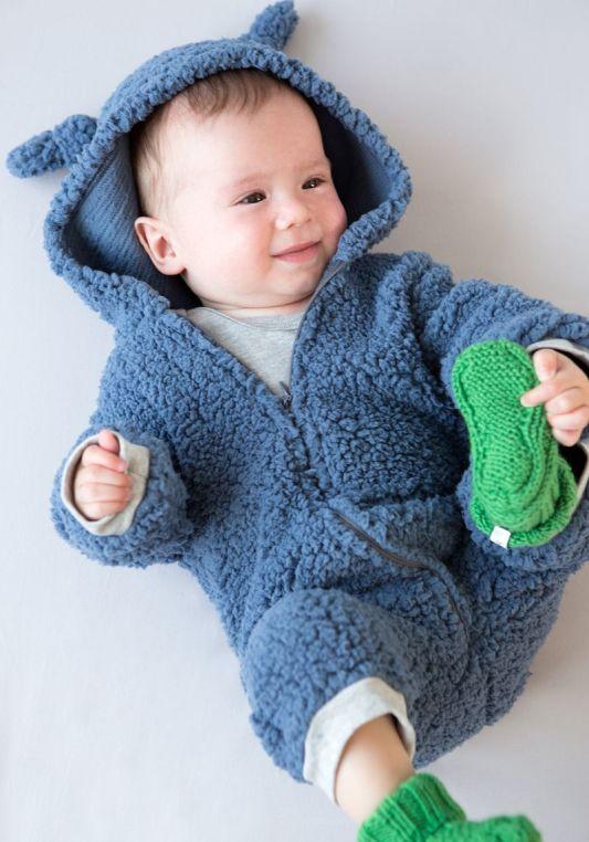 traje de oso de peluche bebe 2