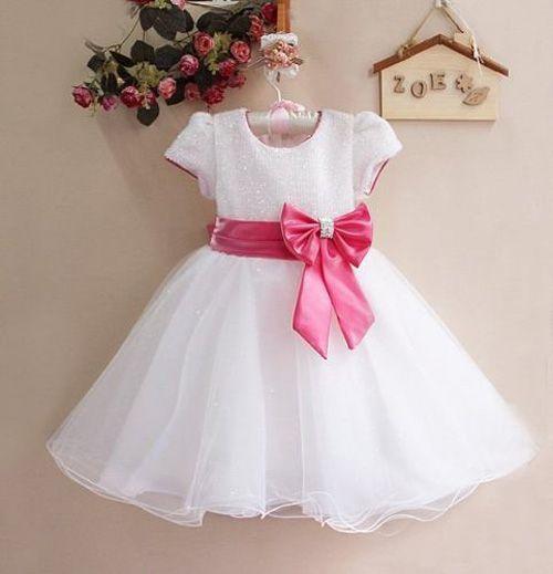 accf1329b Vestido para niñas con patrones - Patrones gratis