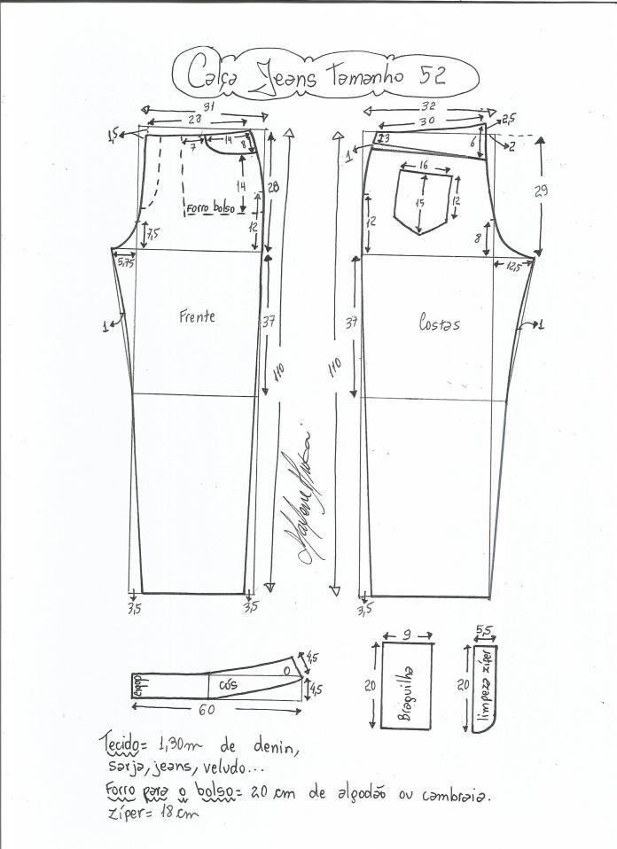 jeans - cintura media-52