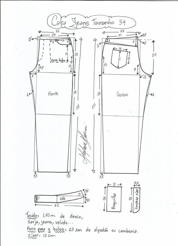 jeans - cintura media-54