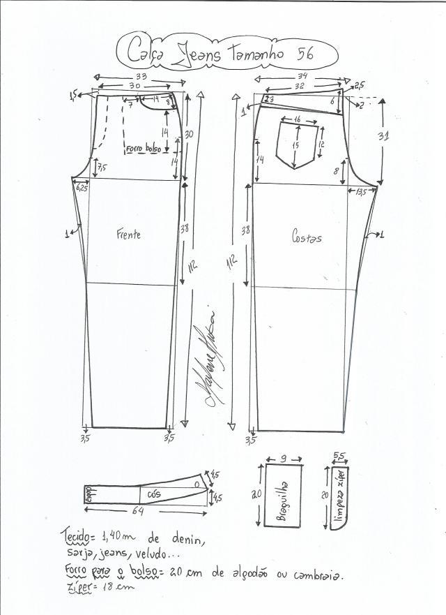 jeans - cintura media-56