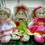 Patrón de muñecas de trapo