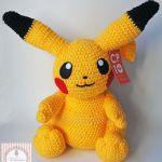 Patrón amigurumi de Pikachu