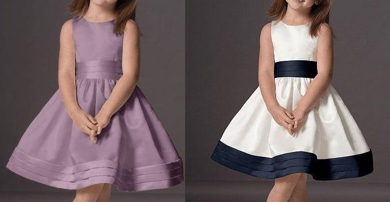 0ae5a68a79 Vestido de fiesta para niña - Patrones gratis