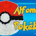 Como hacer una alfombra Pokémon Pokéball con trapillo