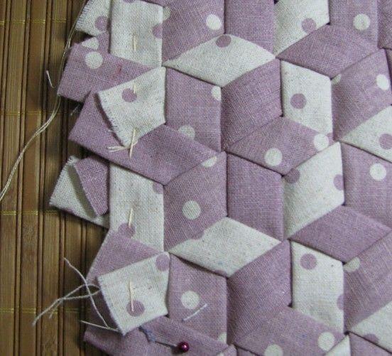 Diy para hacer un bolso de mano patchwork con mosaico - Como hacer pachwork ...
