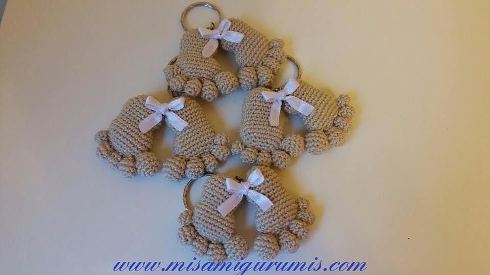Huellas de bebé en amigurumi - Patrones gratis