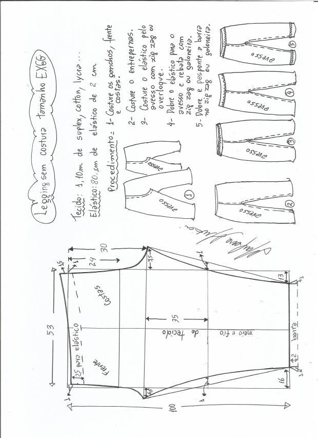 legging sin costural-XXXL