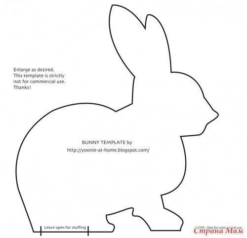patron conejos tela 2