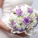 Ramo de flores para novia en goma eva