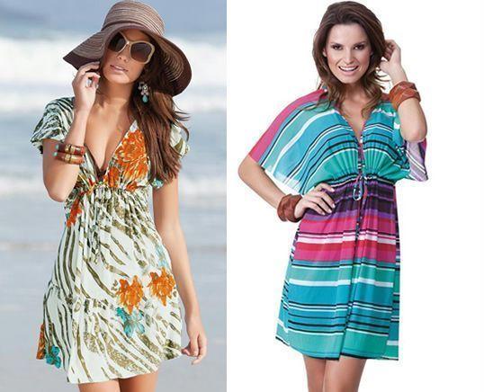 Como hacer vestido largo de playa
