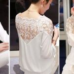 Patrón de blusa con manga ranglán