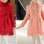 Patrón para hacer un abrigo de niña