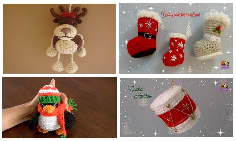 Amigurumi Navidad Nacimiento : Patrones de amigurumis para navidad patrones gratis