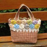 Como coser una bolsa de flores