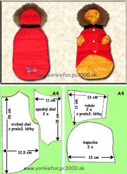 Patrones de abrigos para el frio